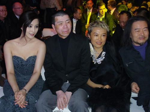 左起:范冰冰、冯小刚、韩枫、何训田