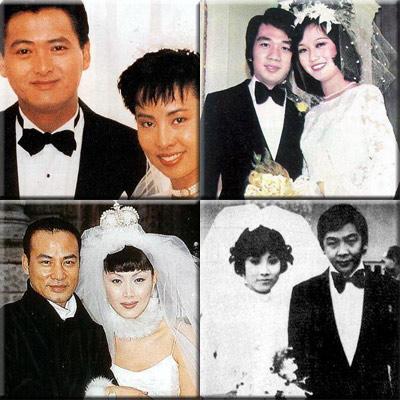 组图:老牌明星结婚照曝光 赵雅芝两任丈夫在列