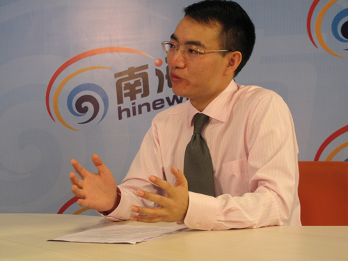 中博展览集团副总裁朱绍文做客南海网