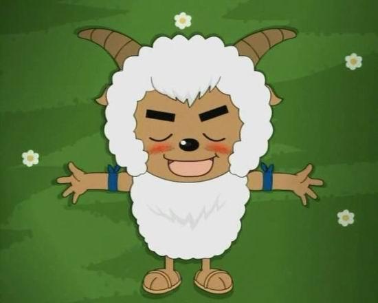 沸羊羊睡觉简笔画图片大全