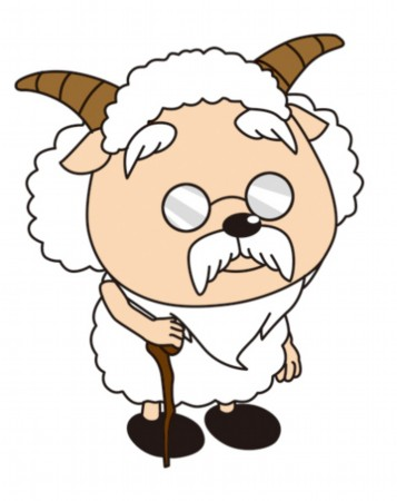 羊年卡通矢量图