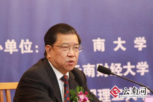 龙永图:要强化云南全省的开放意识   龙永图作为国内外知名...