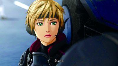 《苹果核战记2》女主角狄娜像姐妹