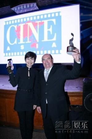 薛晓路获亚太电影博览会 年度新进电影人 大奖