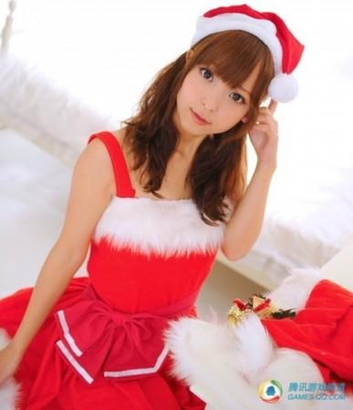 日本美女圣诞cos集锦