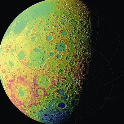月球背面照:陨坑满地似奶酪