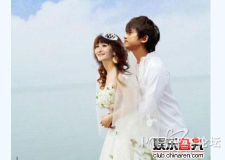 <font color=red>张杰谢娜结婚照</font>曝光 组图_南海网新闻中心