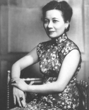 1961年陈洁如与养女陈瑶光离开上海,定居香港.