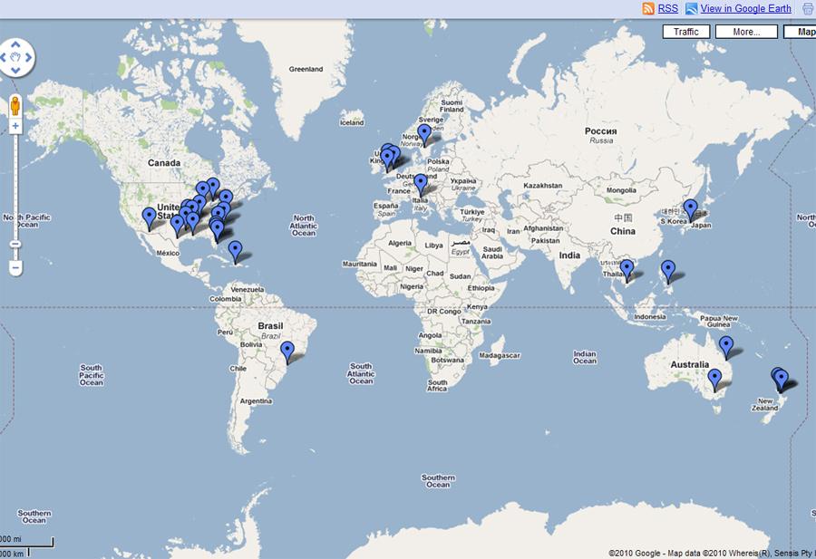 谷歌推出动物神秘死亡世界地图 标出死亡地点图片