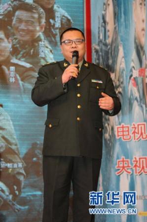 1月12日,导演刘猛在《我是特种兵》首播媒体见面会上介绍该剧剧情.