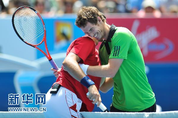 网球明星为澳遭水灾民众赈灾义赛