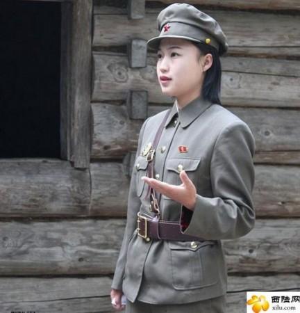 朝鲜美女_
