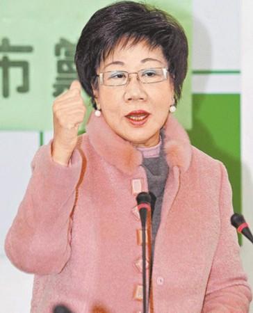吕秀莲自封绰号 愈年轻 爱美出名投资网购