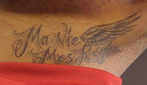 """而这""""罪魁祸首"""",就是自己新刺的纹身图案."""