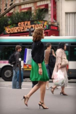 网友亲历:走在美女如云的法国街头组图