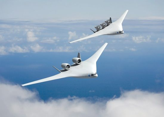 美国nasa公布三种未来运输机概念设计(组图)