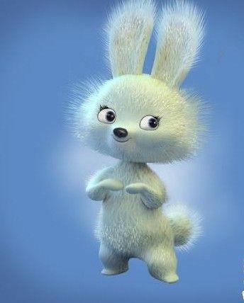 剪雪花的详细兔子步骤图