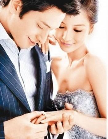 angelababy与绯闻男友黄晓明的秘密结婚照!照片中的黄晓明高清图片