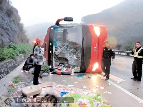 """""""魔鬼路段""""武鸣往安吉高速收费站2公里处月交通事故近百起"""