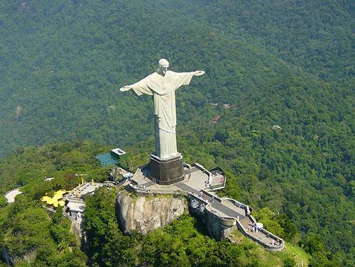 里约热内卢耶稣像简笔画