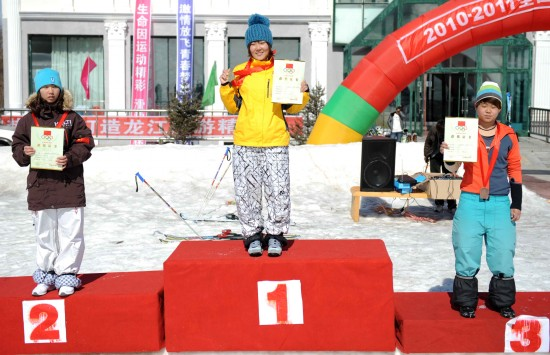 (体育)(3)自由式滑雪——全国自由式滑雪雪上技巧冠军赛女子...