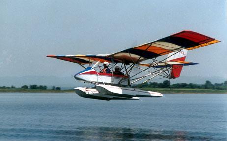 a2c超轻型水陆两用飞机水上型.