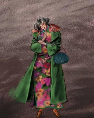《金陵十三钗》曝手绘海报 十三位美女造型各异
