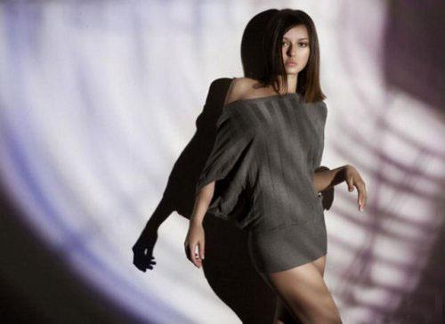 俄罗斯少女人体艺术摄影图片欣赏_组图:俄罗斯美女模特清纯百变 (14)