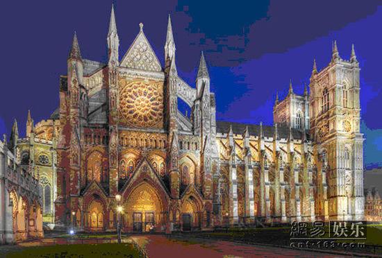 威斯敏斯特大教堂.