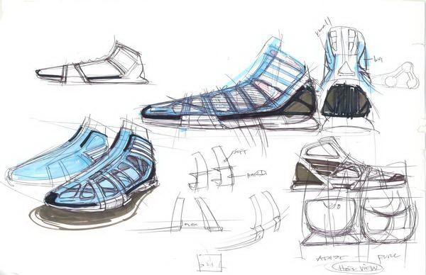 阿迪达斯主打篮球鞋crazy light设计稿曝光(图)图片