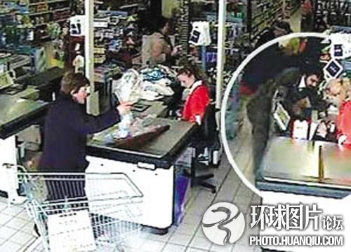 意大利劫匪实施催眠术抢劫超市银行
