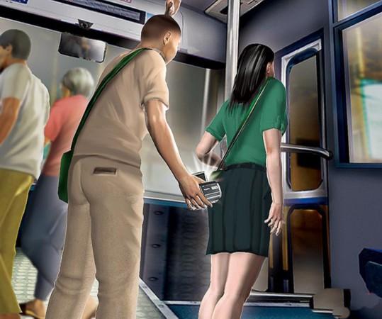 皇瑟录像观看金瓶栴_台一高二男学生持着数字录像机,竟在公交车和捷运上偷拍女学生裙底