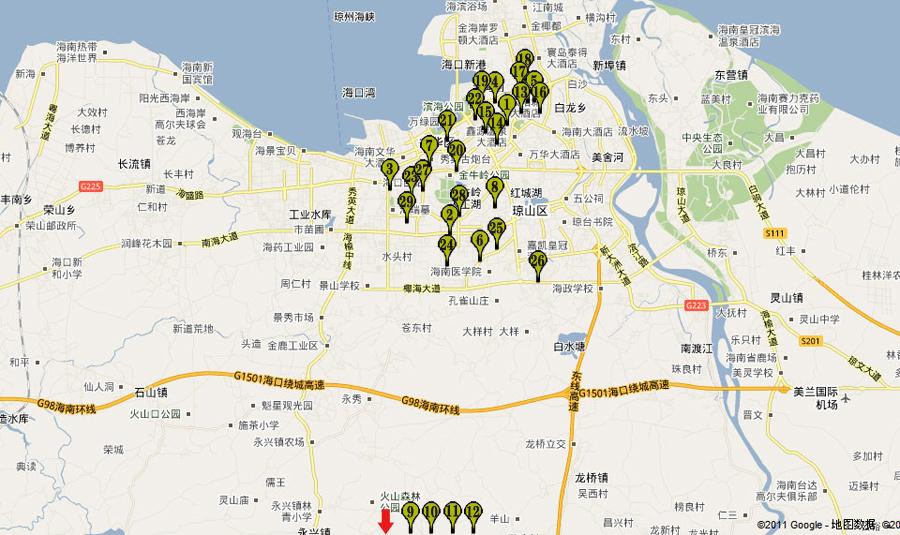 唐山市丰南地图