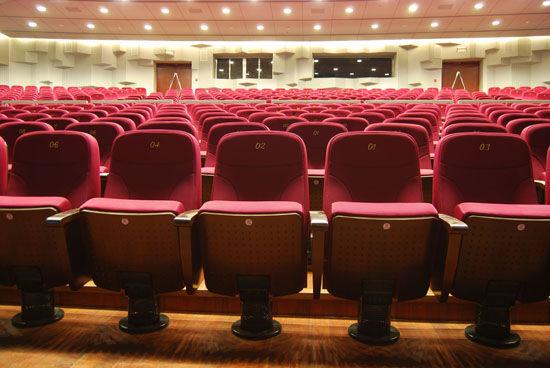 据剧场人员透露,在当初设计的时候,座椅的每一个部分都是从5把不