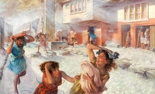 庞贝古城——世界末日的先兆?