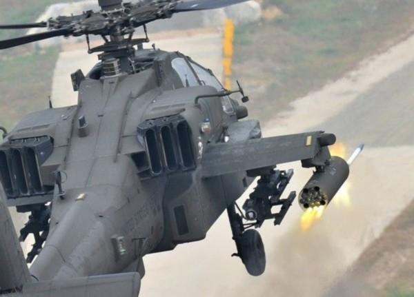 """资料图:""""阿帕奇""""武装直升机高清图片"""