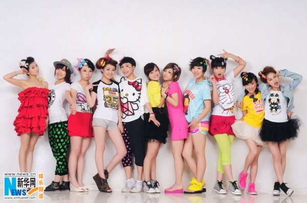 头像女生:2011快乐女声杭州唱区11强写真高清带字霸气组图图片