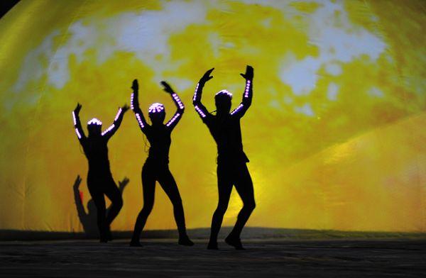 ppt图片素材跳舞