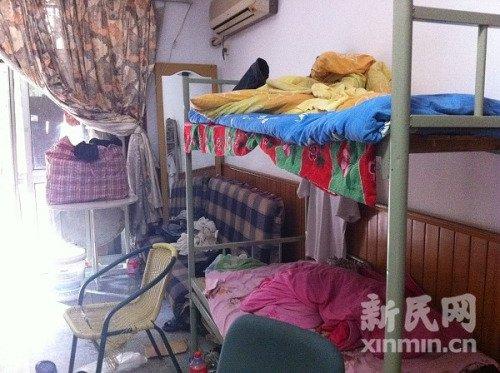 男子在群租房内猝死 三室一厅住二三十人(图)图片