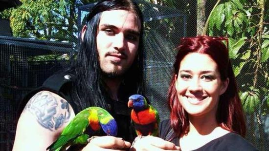 这对新婚不久的夫妻于美国时间7月4日早上八点半被送到洛杉矶监狱.
