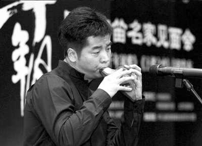 """风雅――国际陶笛名家音乐会"""".内地陶笛演奏家周子雷、台湾高清图片"""