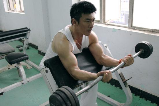 任天野健身房锻炼