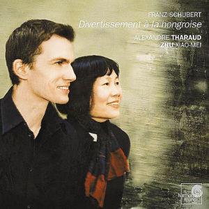 朱晓玫专辑《舒伯特:双钢琴嬉游曲》图片