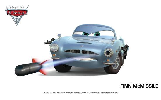麦克飞弹 (Finn McMissile)
