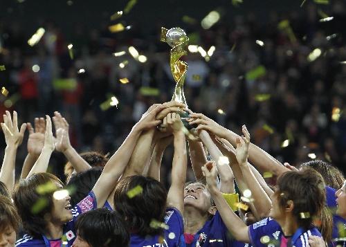 2011年德国女足世界杯决赛美国队对日本队的