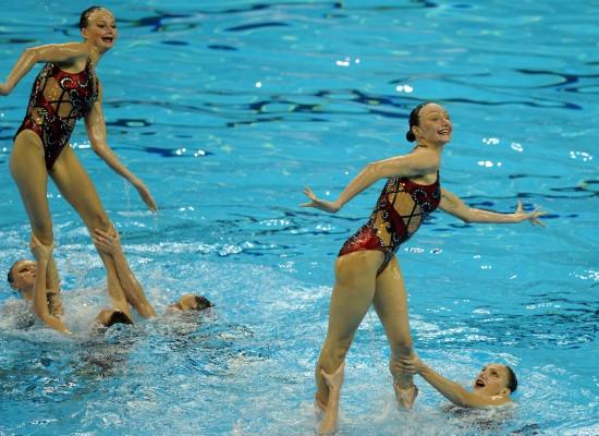 (世游赛-花絮)花样游泳——