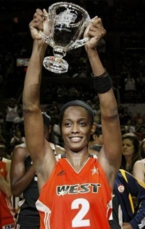 WNBA全明星赛东部险胜西部 历史首位败队MVP诞生