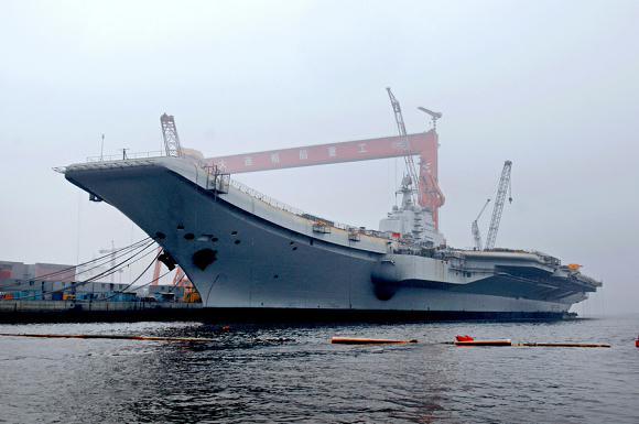 我国改建第一艘航空母舰