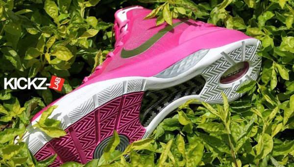 粉红色361运动鞋女