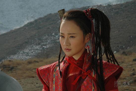 孙颖歆在《少林寺传奇3》中饰演冰玉.图片